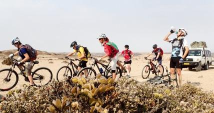 Bike-Safari durch Namibia