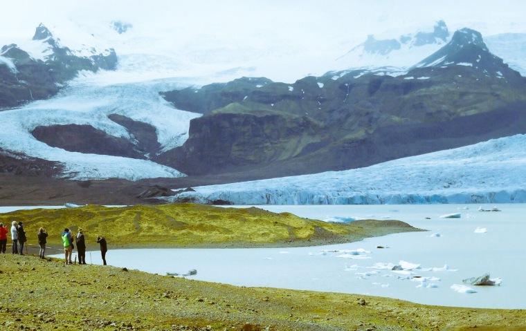 Gletschersee in Island, Jökulsárlón