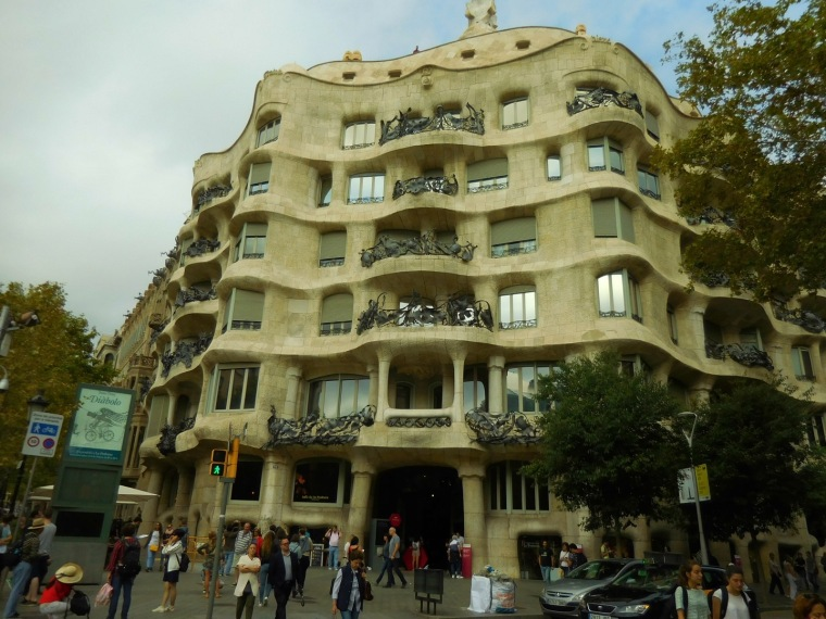 La Pedrera, Bacelona