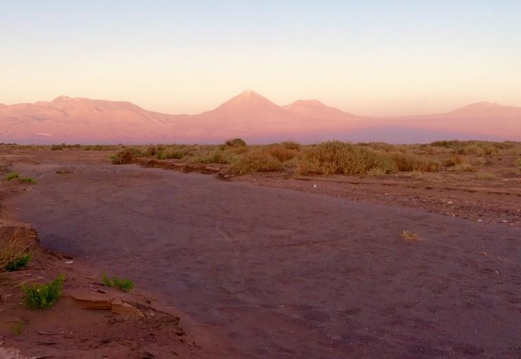 Sundowner im Valle de la Luna, Atacama